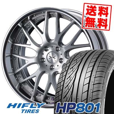 255/45R20 105V XL HIFLY ハイフライ HP801 HP801 weds MAVERICK 709M ウエッズ マーべリック 709M サマータイヤホイール4本セット
