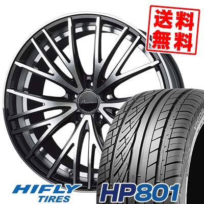 235/55R18 100V HIFLY ハイフライ HP801 エイチピー ハチマルイチ Precious AST M1 プレシャス アスト M1 サマータイヤホイール4本セット