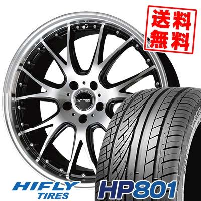 225/55R18 98V HIFLY ハイフライ HP801 エイチピー ハチマルイチ Precious AST M2 プレシャス アスト M2 サマータイヤホイール4本セット