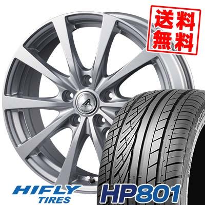 215/60R17 96H XL HIFLY ハイフライ HP801 エイチピー ハチマルイチ AZ SPORTS EX10 AZスポーツ EX10 サマータイヤホイール4本セット
