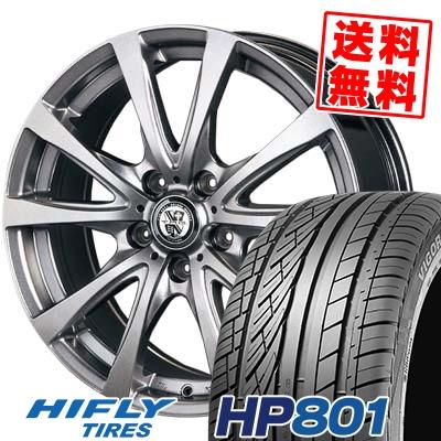 225/60R18 100V HIFLY ハイフライ HP801 HP801 TRG-BAHN TRG バーン サマータイヤホイール4本セット【取付対象】