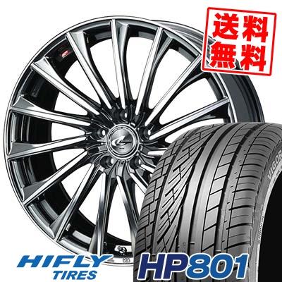 235/60R18 107V XL HIFLY ハイフライ HP801 エイチピー ハチマルイチ WEDS LEONIS CH ウェッズ レオニス CH サマータイヤホイール4本セット