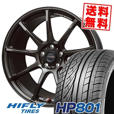 215/60R17 96H XL HIFLY ハイフライ HP801 エイチピー ハチマルイチ CROSS SPEED HYPER EDITION RS9 クロススピード ハイパーエディション RS9 サマータイヤホイール4本セット