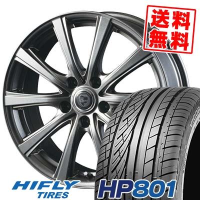 215/55R18 99V XL HIFLY ハイフライ HP801 エイチピー ハチマルイチ CLAIRE DG10 クレール DG10 サマータイヤホイール4本セット【取付対象】