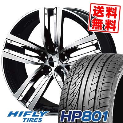 255/45R20 105V XL HIFLY ハイフライ HP801 エイチピー ハチマルイチ ESTATUS Style-ZTR エステイタス スタイルZTR サマータイヤホイール4本セット