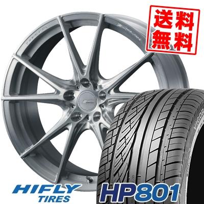 235/55R18 100V HIFLY ハイフライ HP801 エイチピー ハチマルイチ WEDS F ZERO FZ-2 ウェッズ エフゼロ FZ-2 サマータイヤホイール4本セット【取付対象】