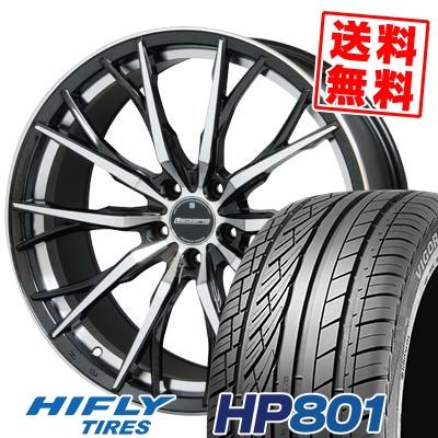 225/55R18 98V HIFLY ハイフライ HP801 HP801 Stich LEGZAS FUHLER シュティッヒ レグザス フューラー サマータイヤホイール4本セット