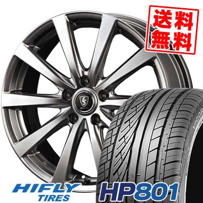 215/60R17 96H XL HIFLY ハイフライ HP801 HP801 Euro Speed G10 ユーロスピード G10 サマータイヤホイール4本セット