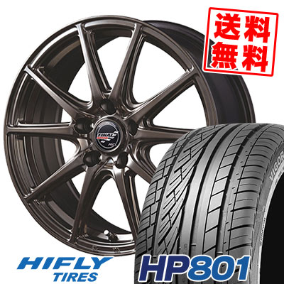 235/60R18 107V XL HIFLY ハイフライ HP801 エイチピー ハチマルイチ FINALSPEED GR-Volt ファイナルスピード GRボルト サマータイヤホイール4本セット