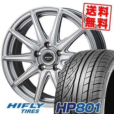 235/55R18 100V HIFLY ハイフライ HP801 エイチピー ハチマルイチ ZACK JP-710 ザック ジェイピー710 サマータイヤホイール4本セット【取付対象】