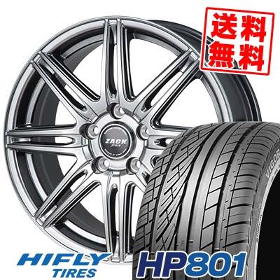 235/55R18 100V HIFLY ハイフライ HP801 エイチピー ハチマルイチ ZACK JP-818 ザック ジェイピー818 サマータイヤホイール4本セット【取付対象】
