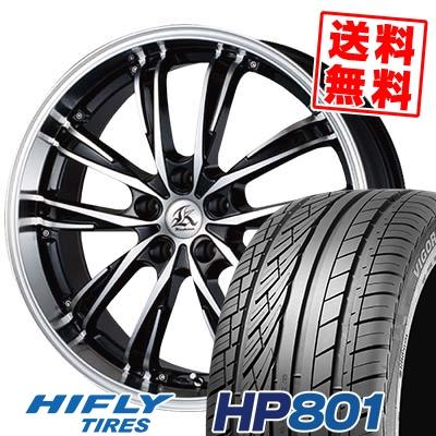 245/45R20 99W HIFLY ハイフライ HP801 エイチピー ハチマルイチ Kashina XV5 カシーナ XV5 サマータイヤホイール4本セット