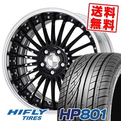 245/55R19 103V HIFLY ハイフライ HP801 HP801 WORK LANVEC LF1 ワーク ランベック エルエフワン サマータイヤホイール4本セット