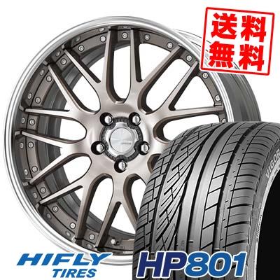 245/45R20 99W HIFLY ハイフライ HP801 HP801 WORK LANVEC LM1 ワーク ランベック エルエムワン サマータイヤホイール4本セット