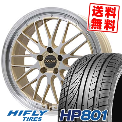 215/60R17 96H XL HIFLY ハイフライ HP801 エイチピー ハチマルイチ Leycross REZERVA レイクロス レゼルヴァ サマータイヤホイール4本セット