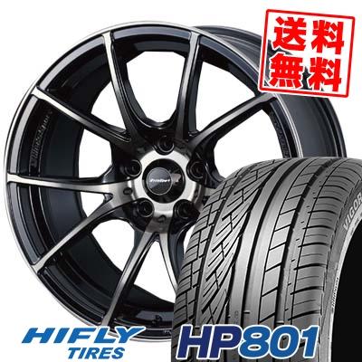 215/60R17 96H XL HIFLY ハイフライ HP801 エイチピー ハチマルイチ wedsSport SA-10R ウエッズスポーツ SA10R サマータイヤホイール4本セット