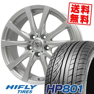 215/60R17 96H XL HIFLY ハイフライ HP801 エイチピー ハチマルイチ TRG-SILBAHN TRG シルバーン サマータイヤホイール4本セット
