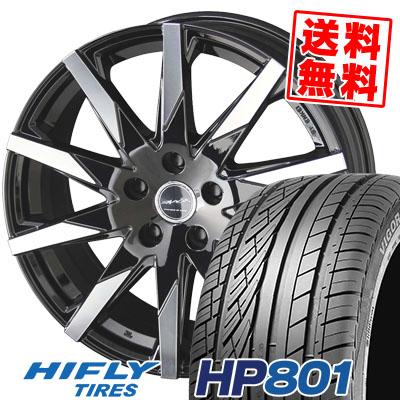 225/55R18 98V HIFLY ハイフライ HP801 HP801 SMACK SFIDA スマック スフィーダ サマータイヤホイール4本セット【取付対象】