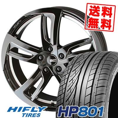 235/55R18 100V HIFLY ハイフライ HP801 エイチピー ハチマルイチ STEINER SF-C シュタイナー SF-C サマータイヤホイール4本セット