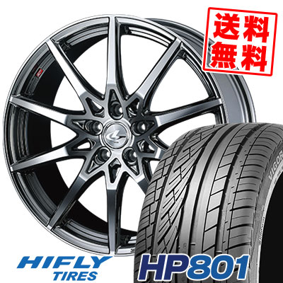 215/60R17 96H XL HIFLY ハイフライ HP801 エイチピー ハチマルイチ weds LEONIS SV ウェッズ レオニス SV サマータイヤホイール4本セット