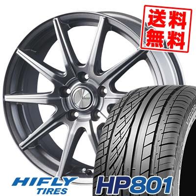215/55R18 99V XL HIFLY ハイフライ HP801 エイチピー ハチマルイチ V-EMOTION SR10 Vエモーション SR10 サマータイヤホイール4本セット