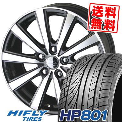 215/60R17 96H XL HIFLY ハイフライ HP801 HP801 SMACK VIR スマック VI-R サマータイヤホイール4本セット