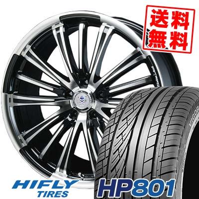 235/55R18 100V HIFLY ハイフライ HP801 HP801 BAHNS TECK VR-01 バーンズテック VR01 サマータイヤホイール4本セット