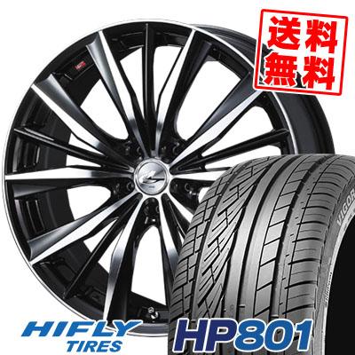 235/55R18 100V HIFLY ハイフライ HP801 HP801 weds LEONIS VX ウエッズ レオニス VX サマータイヤホイール4本セット