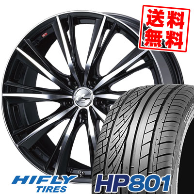 235/55R18 100V HIFLY ハイフライ HP801 HP801 weds LEONIS WX ウエッズ レオニス WX サマータイヤホイール4本セット