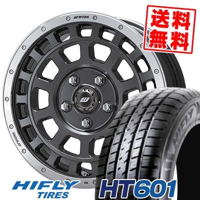 215/70R16 100H HIFLY ハイフライ HT601 エイチティー ロクマルイチ CRAG T-GRABIC クラッグ Tグラビック サマータイヤホイール4本セット