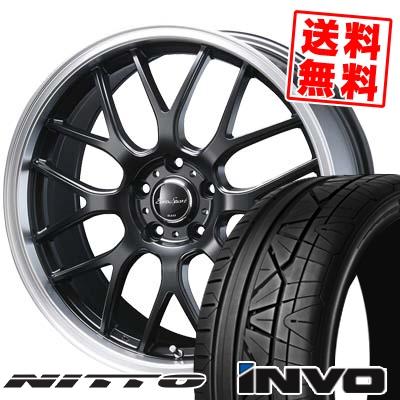 245/40R20 99W NITTO ニットー INVO インヴォ Eoro Sport Type 805 ユーロスポーツ タイプ805 サマータイヤホイール4本セット