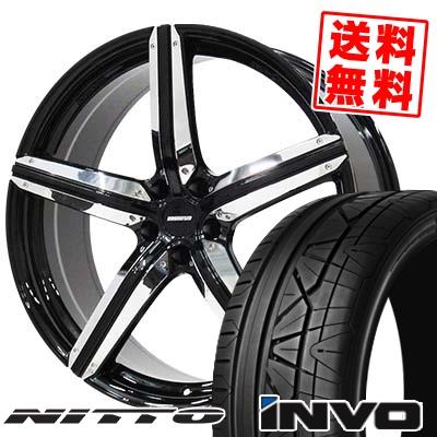 265/30R22 NITTO ニットー INVO インヴォ ESTATUS Style-CTR エステイタス スタイルCTR サマータイヤホイール4本セット