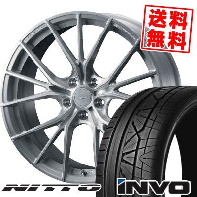 245/30R20 90W NITTO ニットー INVO インヴォ WEDS F ZERO FZ-1 ウェッズ エフゼロ FZ-1 サマータイヤホイール4本セット