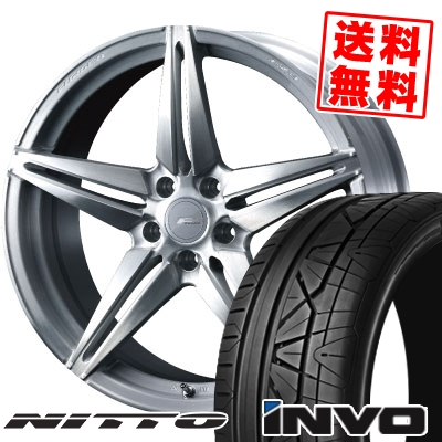 245/30R20 90W NITTO ニットー INVO インヴォ WEDS F ZERO FZ-3 ウェッズ エフゼロ FZ-3 サマータイヤホイール4本セット
