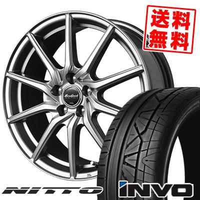 245/50R18 104W NITTO ニットー INVO インヴォ EuroSpeed G810 ユーロスピード G810 サマータイヤホイール4本セット