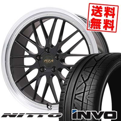 255/35R20 NITTO ニットー INVO インヴォ Leycross REZERVA レイクロス レゼルヴァ サマータイヤホイール4本セット