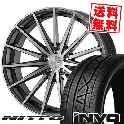 265/30R22 NITTO ニットー INVO インヴォ ROJAM Spread ロジャム スプレッド サマータイヤホイール4本セット