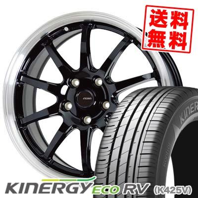 215/60R16 95H HANKOOK ハンコック KINERGY ECO RV キナジー エコ アールブイ G.speed P-04 ジースピード P-04 サマータイヤホイール4本セット