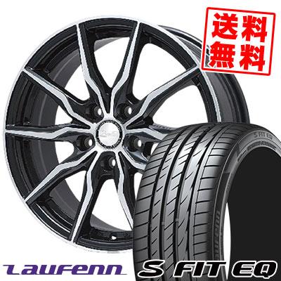 245/45R17 99Y XL HANKOOK ハンコック LAUFENN S FIT EQ LK01 ラウフェン Sフィット EQ LK01 B-win KRX B-win KRX サマータイヤホイール4本セット