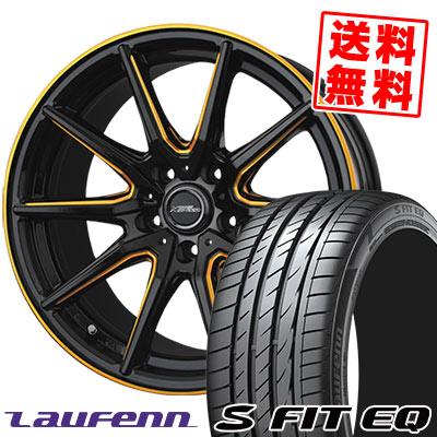 215/50R17 95W XL HANKOOK ハンコック LAUFENN S FIT EQ LK01 ラウフェン Sフィット EQ LK01 CROSS SPEED PREMIUM RS10 クロススピード プレミアム RS10 サマータイヤホイール4本セット