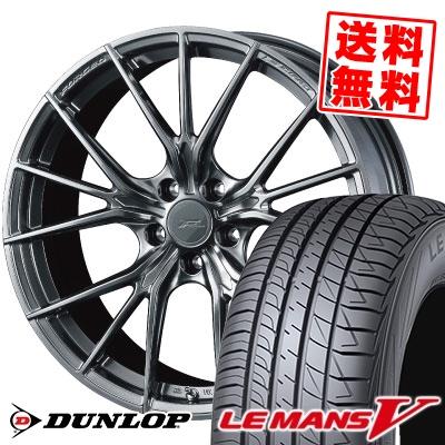 245/40R20 95W DUNLOP ダンロップ LE MANS 5 LM5 ルマンV(ファイブ) ルマン5 WEDS F ZERO FZ-1 ウェッズ エフゼロ FZ-1 サマータイヤホイール4本セット
