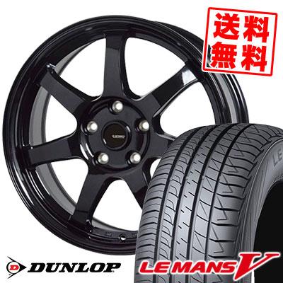 195/60R16 89H DUNLOP ダンロップ LE MANS 5 LM5 ルマンV(ファイブ) ルマン5 G.speed G-03 Gスピード G-03 サマータイヤホイール4本セット