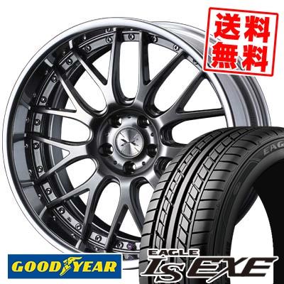 225/35R20 90W XL Goodyear グッドイヤー LS EXE LS エグゼ weds MAVERICK 709M ウエッズ マーベリック 709M サマータイヤホイール4本セット