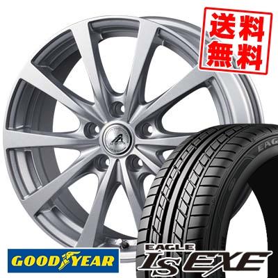 215/55R16 93V Goodyear グッドイヤー LS EXE LS エグゼ AZ SPORTS EX10 AZスポーツ EX10 サマータイヤホイール4本セット