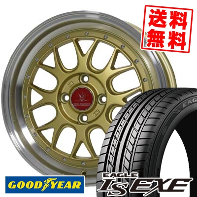165/45R16 74W XL Goodyear グッドイヤー LS EXE LS エグゼ Black Diamondo BD00 ブラックダイヤモンド BD00 サマータイヤホイール4本セット