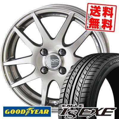 195/50R15 82V Goodyear グッドイヤー LS EXE LS エグゼ ENKEI CREATIVE DIRECTION CDR2 エンケイ クリエイティブ ディレクション CD-R2 サマータイヤホイール4本セット