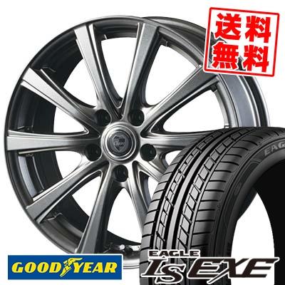 235/40R18 95W XL Goodyear グッドイヤー LS EXE LS エグゼ CLAIRE DG10 クレール DG10 サマータイヤホイール4本セット
