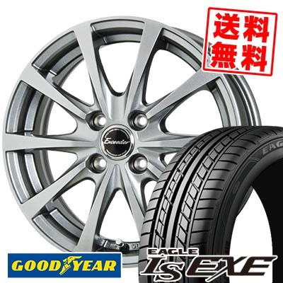 195/50R15 82V Goodyear グッドイヤー LS EXE LS エグゼ Exceeder E03 エクシーダー E03 サマータイヤホイール4本セット