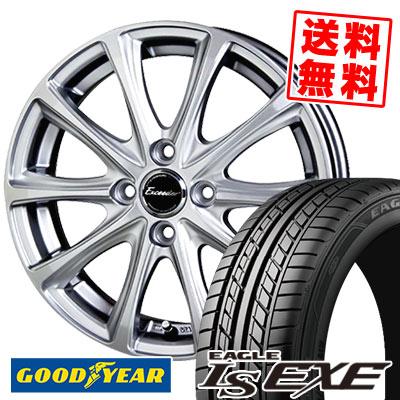 195/50R15 82V Goodyear グッドイヤー LS EXE LS エグゼ Exceeder E04 エクシーダー E04 サマータイヤホイール4本セット