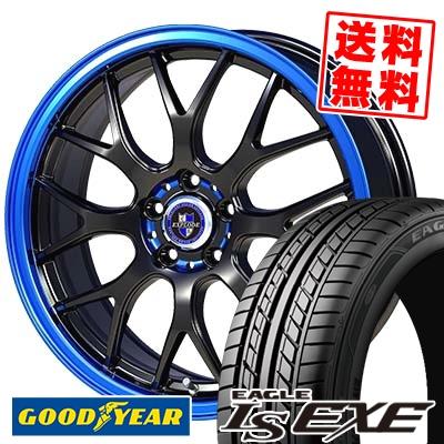245/45R17 95W Goodyear グッドイヤー LS EXE LS エグゼ EXPLODE-RBM エクスプラウド RBM サマータイヤホイール4本セット【取付対象】